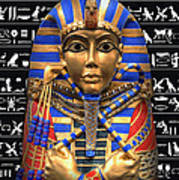 King Of Egypt Poster by Daniel Hagerman