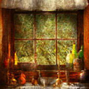 Kitchen - Table Setting Poster by Mike Savad