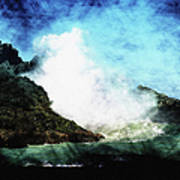 Kona Sea Poster by Athala Carole Bruckner