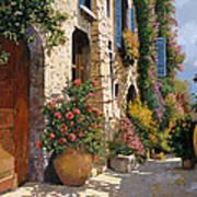 La Bella Strada Poster by Guido Borelli
