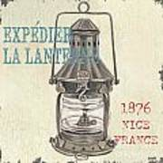 La Mer Lanterne Poster by Debbie DeWitt
