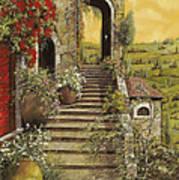 La Scala Grande Poster by Guido Borelli