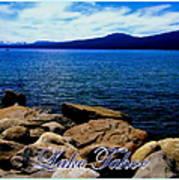 Lake Tahoe Magic Poster by Bobbee Rickard
