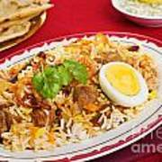 Lamb Biryani Poster by Colin and Linda McKie