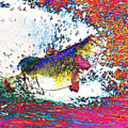 Largemouth Bass Poster by Wingsdomain Art and Photography