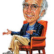 Larry David Poster by Art
