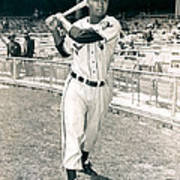 Larry Doby Poster by Retro Images Archive