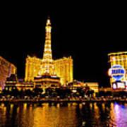 Las Vegas 012 Poster by Lance Vaughn