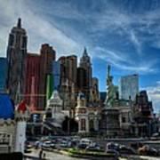 Las Vegas 051 Poster by Lance Vaughn