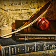 Lawyer - The Constitutional Lawyer Poster by Paul Ward