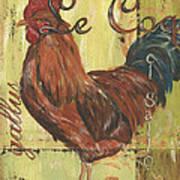 Le Coq Poster by Debbie DeWitt