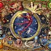 Legacy Of The Divine Tarot Poster by Ciro Marchetti