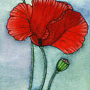 Lest We Forget Poster by Nora Blansett
