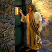 Let Him In Poster by Greg Olsen