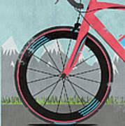 L'etape Du Tour Bike Poster by Andy Scullion