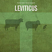 Leviticus Books Of The Bible Series Old Testament Minimal Poster Art Number 3 Poster by Design Turnpike