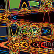 Light Painting 3 Poster by Delphimages Photo Creations