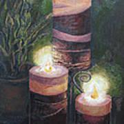 Lighting The Dark Corners Poster by Prasida Yerra