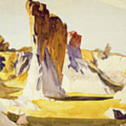 Lime Rock Quarry II Poster by Edward Hopper