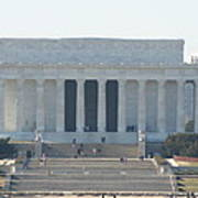 Lincoln Memorial - Washington Dc - 01131 Poster by DC Photographer