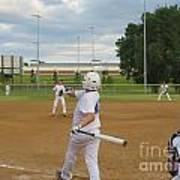 Line Drive Poster by Lne Kirkes