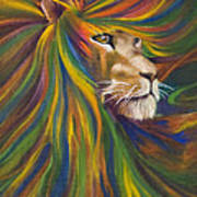 Lion Poster by Kd Neeley