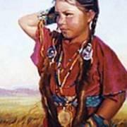 Little American Beauty II Poster by Jean Hildebrant