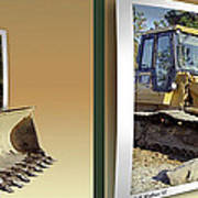 Loader - Cross Your Eyes And Focus On The Middle Image Poster by Brian Wallace