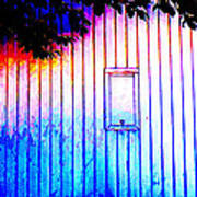 Location 54 North  A Shed Full Of Surprises Poster by Sir Josef - Social Critic - ART