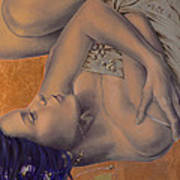 Locked In Silence Poster by Dorina  Costras