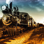 Locomotive Number 4 Poster by Bob Orsillo