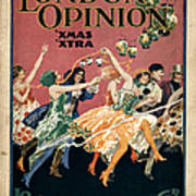London Opinion 1919 1910s Uk First Poster by The Advertising Archives