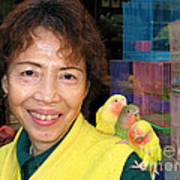 Love Birds Poster by Eva Kaufman