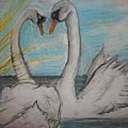 Love Birds Poster by Jake Huenink