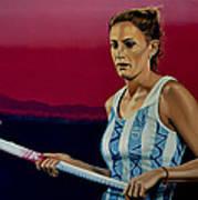 Luciana Aymar Poster by Paul Meijering