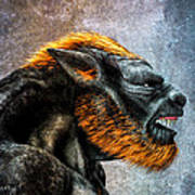 Lycan Poster by Bob Orsillo