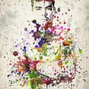 Lyoto Machida Poster by Aged Pixel