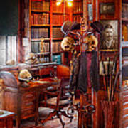 Macabre - In The Headhunters Study Poster by Mike Savad