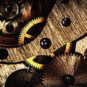 Macro Mechanic Poster by Svetoslav Sokolov