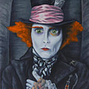 Mad Hatter Poster by Travis Radcliffe