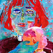 Madonna And Child Poster by Diane Fine