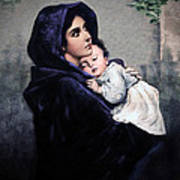 Madonnina Poster by A Samuel