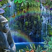 Magic Jungle Poster by Alixandra Mullins