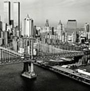 Manhattan Bridge Poster by Benjamin Yeager