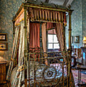 Mansion Bedroom Poster by Adrian Evans