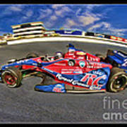 Marco Andretti Poster by Blake Richards