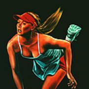 Maria Sharapova  Poster by Paul Meijering