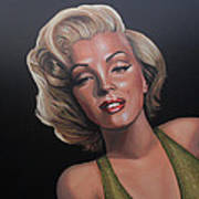 Marilyn Monroe 2 Poster by Paul Meijering