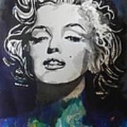 Marilyn Monroe..2 Poster by Chrisann Ellis