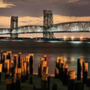 Marine Parkway Bridge Poster by JC Findley